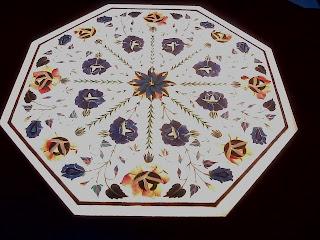 Framed Taj Mahal white marbel