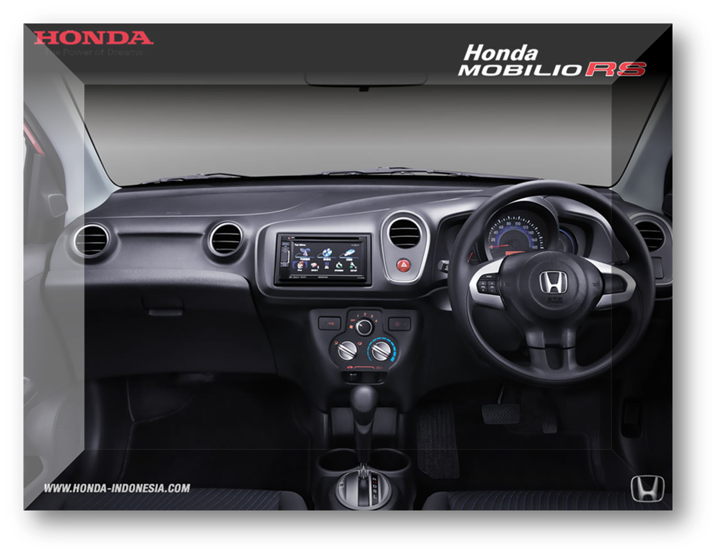 Interior Honda Mobilio RS