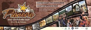 Secretaria Municipal de Cultura de Delmiro Gouveia, divulga programação da semana do pioneiro