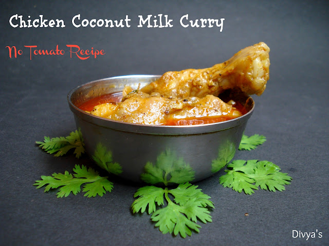 Chicken Coconut Milk Curry - No Tomato Recipe | You Too Can Cook