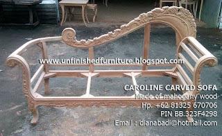 Supplier wooden frame sofa mahogany supplier wooden frame classic sofa jepara