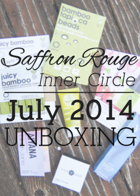 Saffron Rouge Inner Circle Unboxing - July 2014 | Ribbons Down My Back
