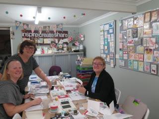 Paper Angels Christmas Card Workshops Zena kennedy independent stampin up demonstrator