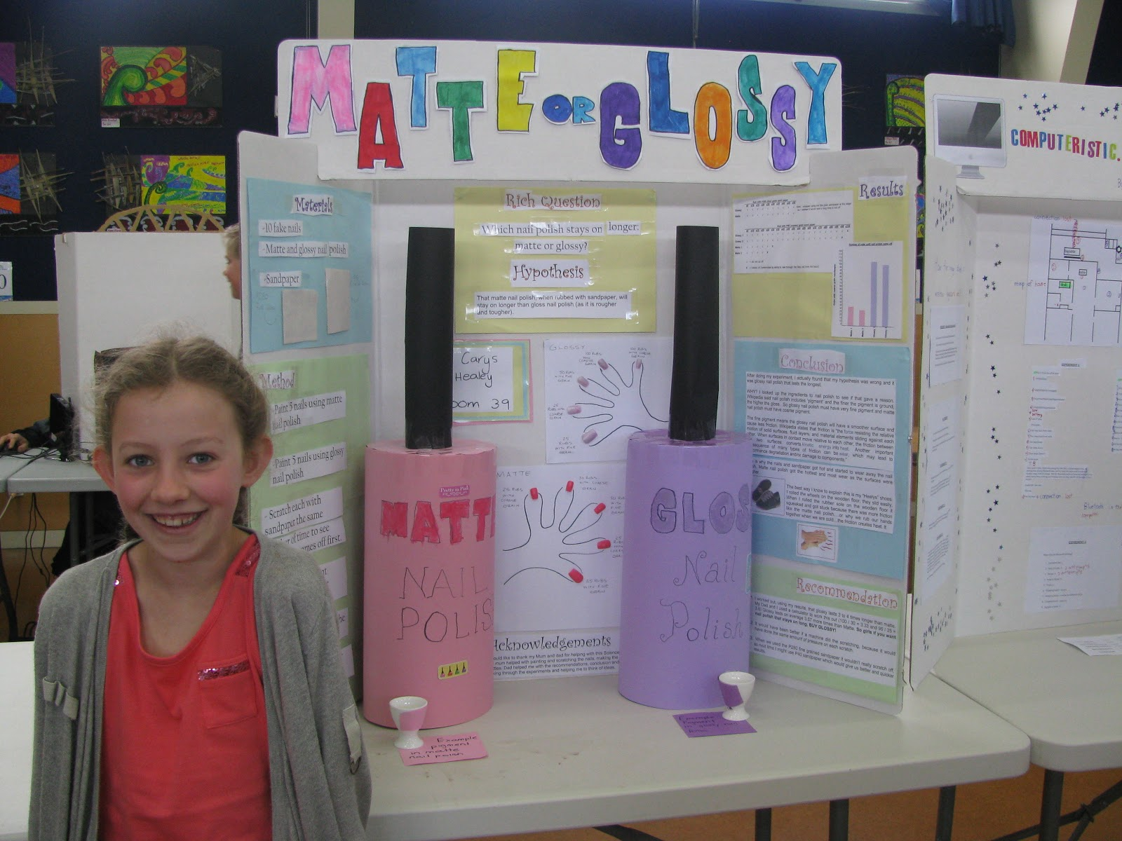 Science Fair Projects In Addition Nail Polish Science Fair Projects ...