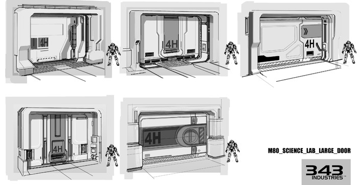 Albee ng halo 4 concept art dump - Several artistic concepts for main door ...