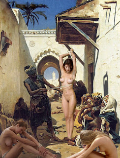 meninas católicas nuas expostas na feira