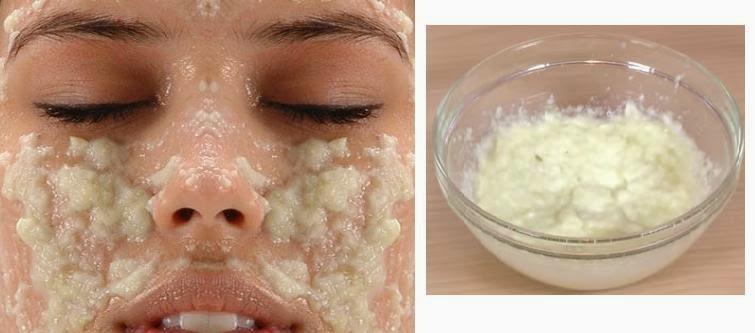 peeling facial casero natural