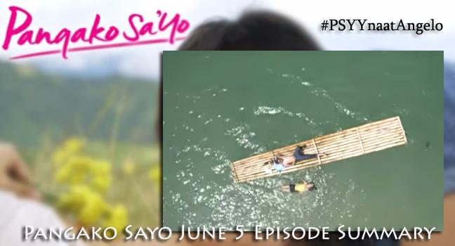Pangako Sayo June 5 Episode Summary: Ang Pagtatagpo ni Yna at Angelo