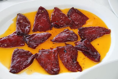 Pimientos del Piquillo del Restaurante Illunbe. Blog Esteban Capdevila