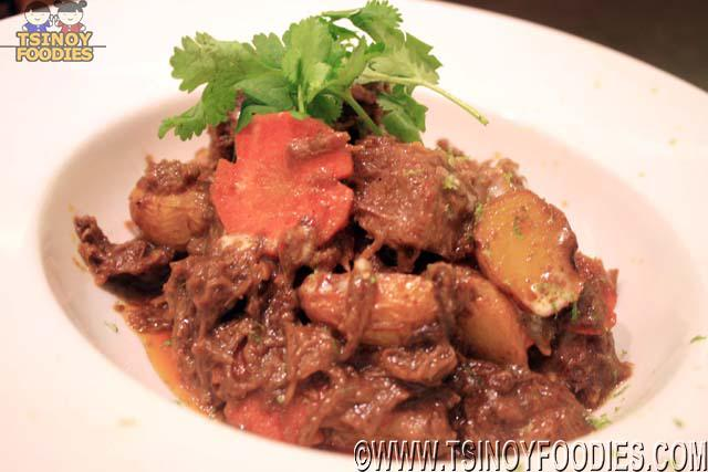 beef belly rendang curry