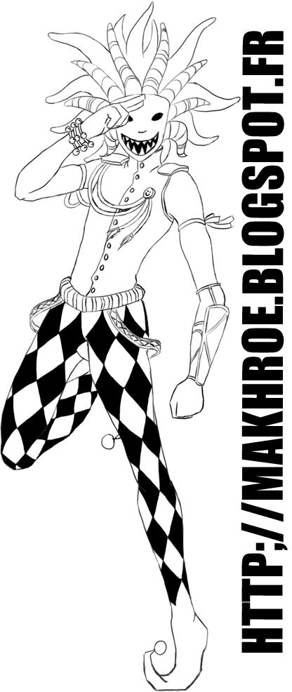 My Art (Dessins) Clown+makhro