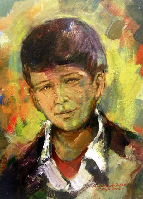 Южноафриканский художник. Andre de Beer