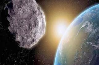 Nyaris Tabrak Bumi, Sebuah Asteroid Tiba-tiba Hilang - Gambar Ilustrasi