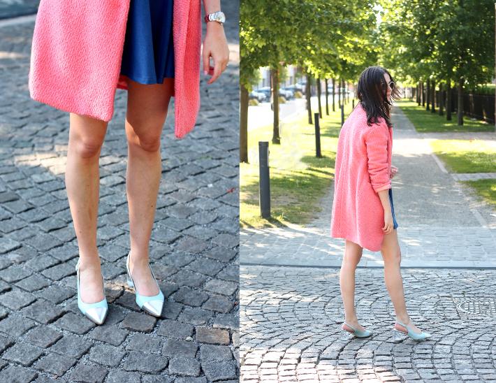 pink coat zinda shoes