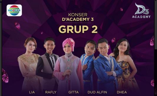 Peserta Dangdut Academy 3 yang Tersenggol Tgl 26 Januari 2016