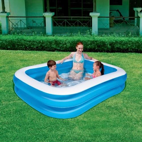 La piscina per bambini gonfiabile bestway in vendita da san marco per giocare all 39 aperto - Piscina gonfiabile terrazzo ...