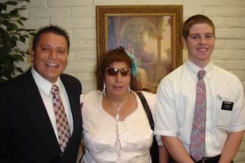 Alberto, Maria & Elder Kinney