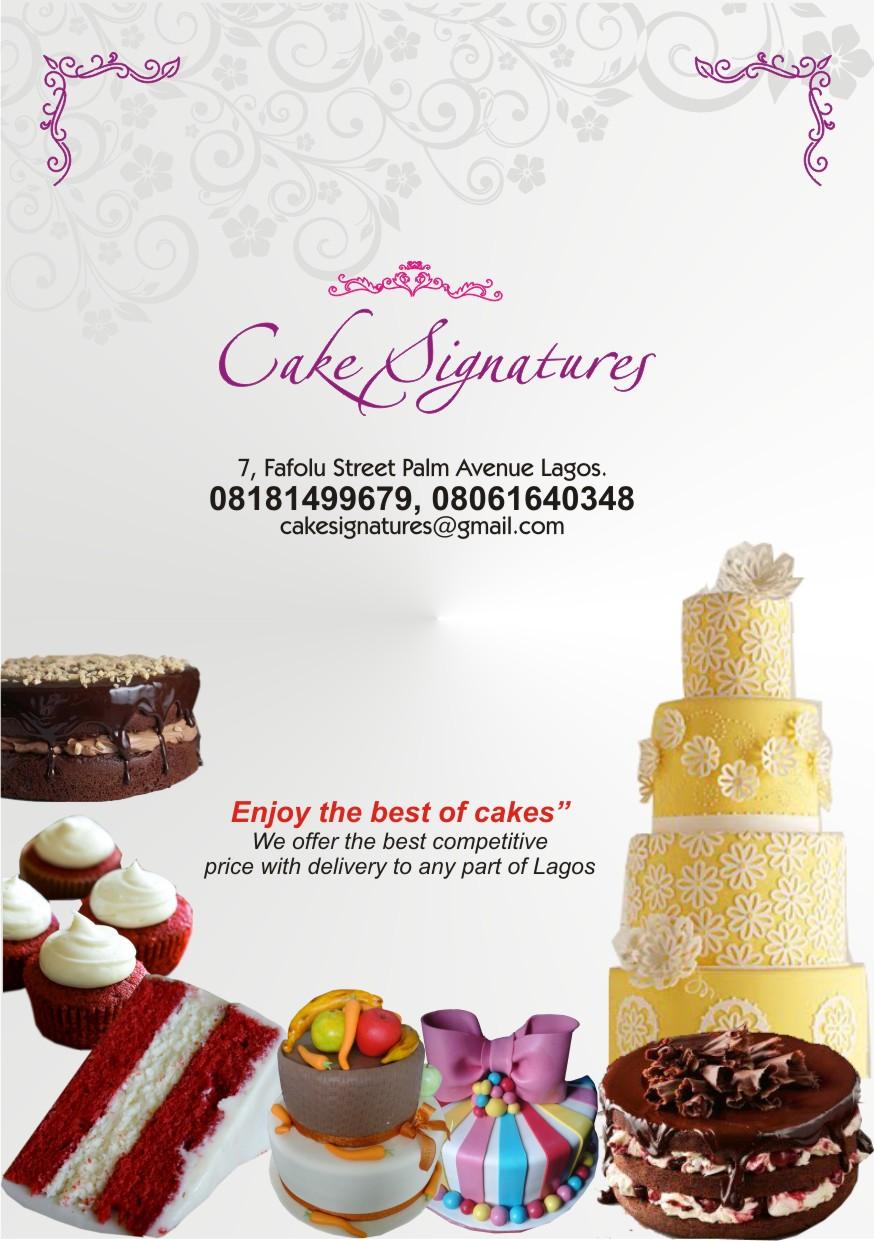 Cake Signature
