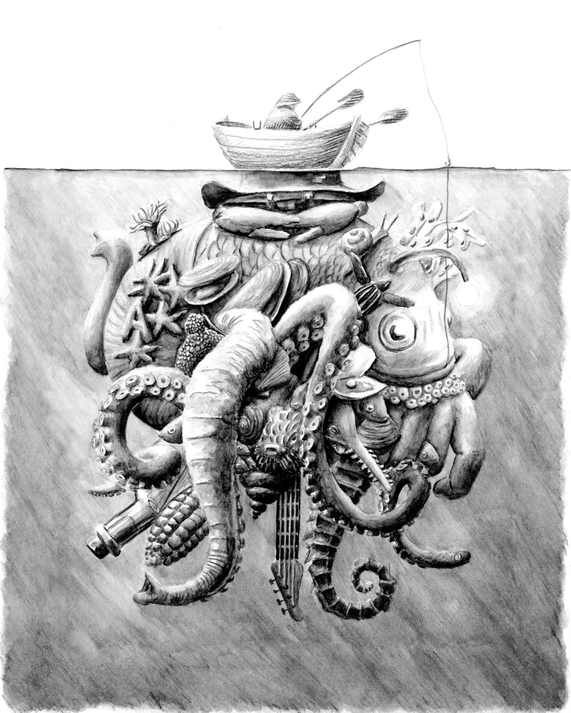 12-Boat-Redmer-Hoekstra-Drawing-Fantastic-and-Surreal-World-of-Hoekstra-www-designstack-co