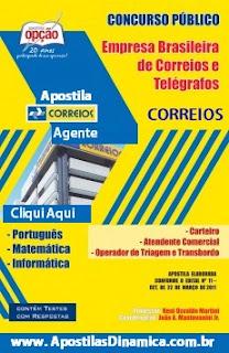 Apostila Concuso Correios para Agente dos Correios 2015