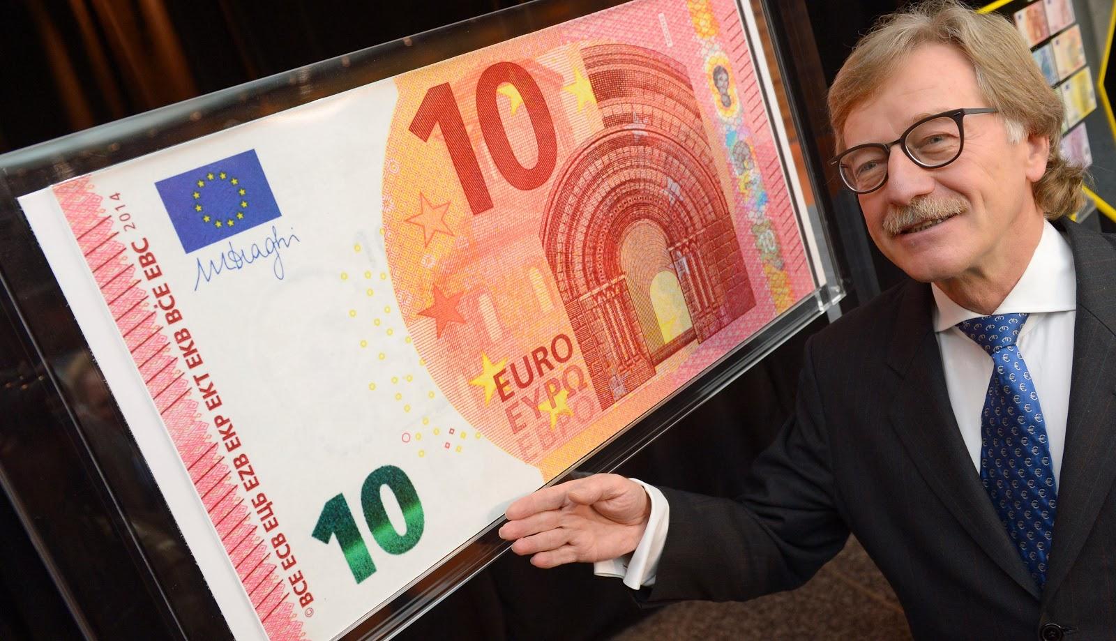 Se ha presentado el nuevo billete de diez euros | dinero en efectivo