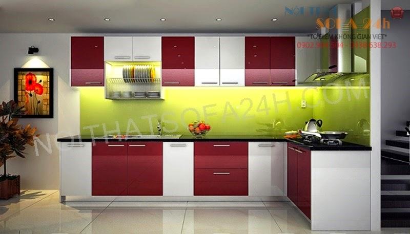 Tủ bếp TB036