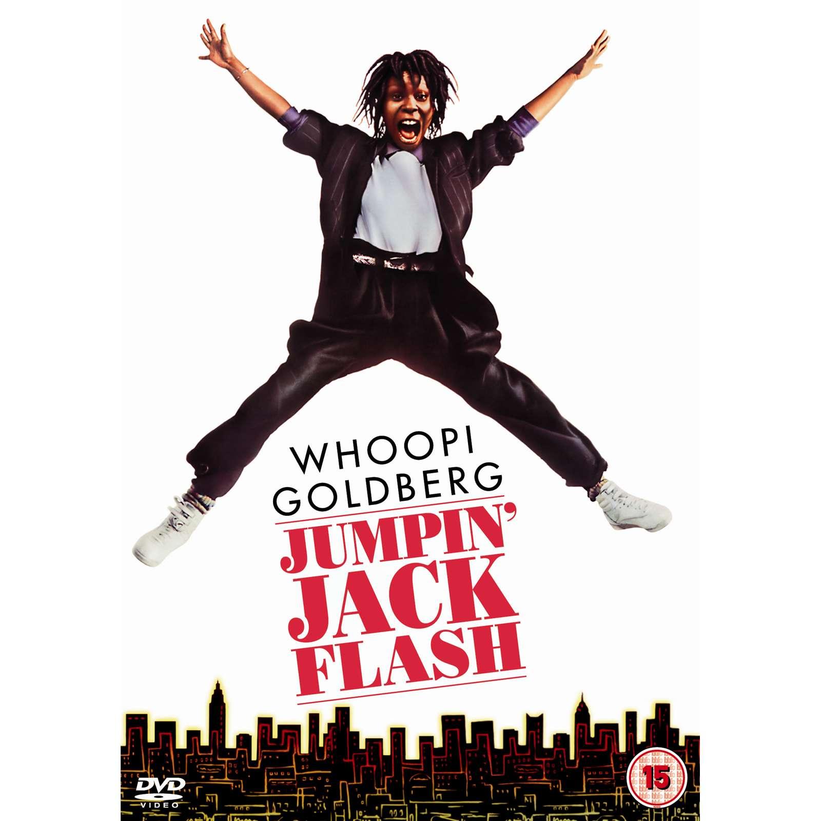 Jumpin Jack Flash Poster Film 'jumpin' Jack Flash'