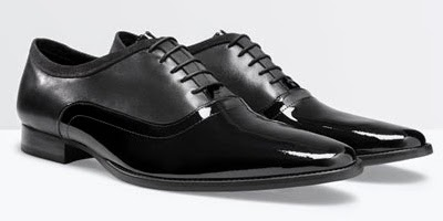 Zara zapatos de hombre para el invierno