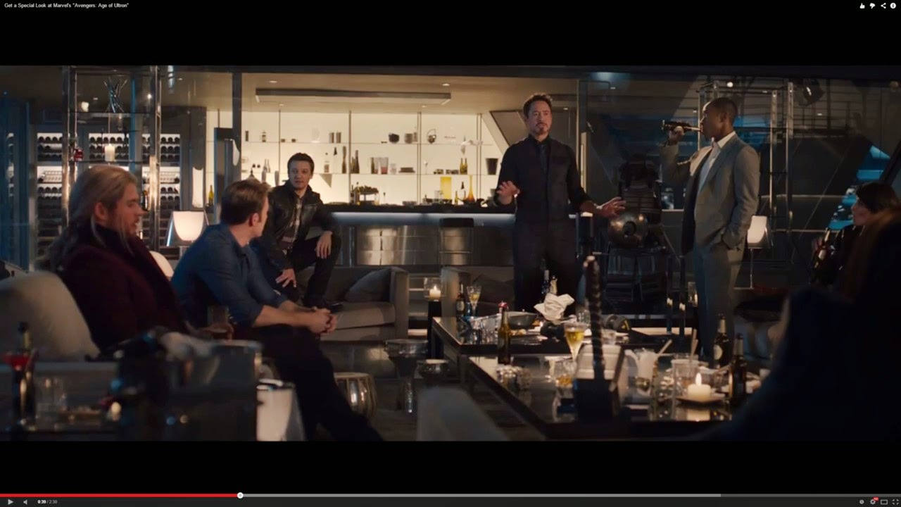 Avengers - Age of Ultron party scene