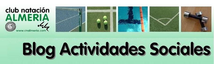 Actividades Sociales - Club Natación Almería