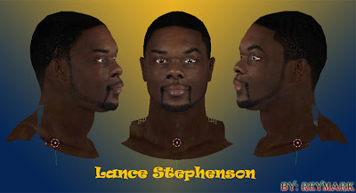 NBA 2K13 Lance Stephenson Cyberface Mod