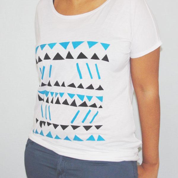 Tee-shirt géométrique