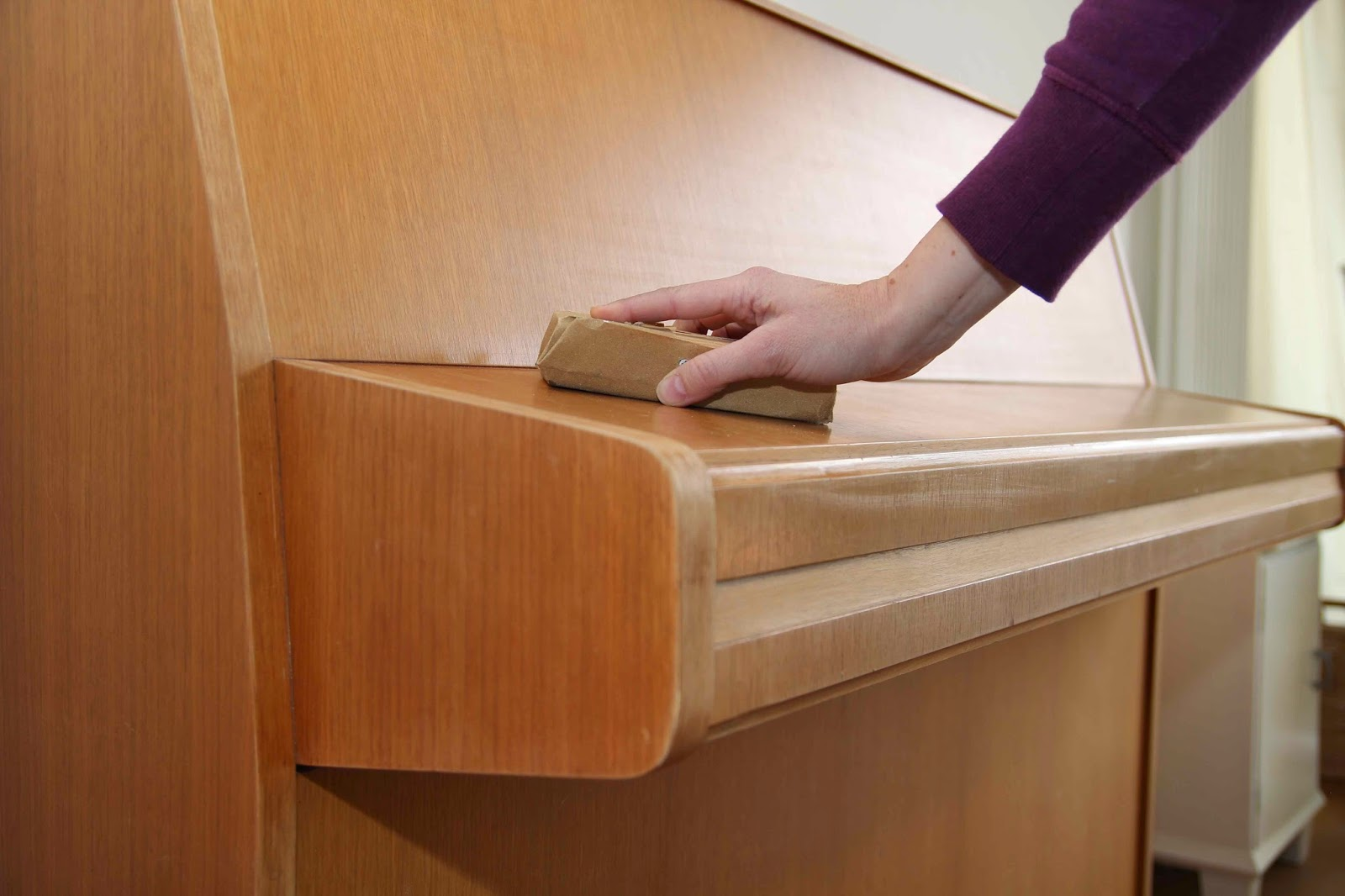 treibholztag wie man ein 70 er jahre klavier versch nert. Black Bedroom Furniture Sets. Home Design Ideas