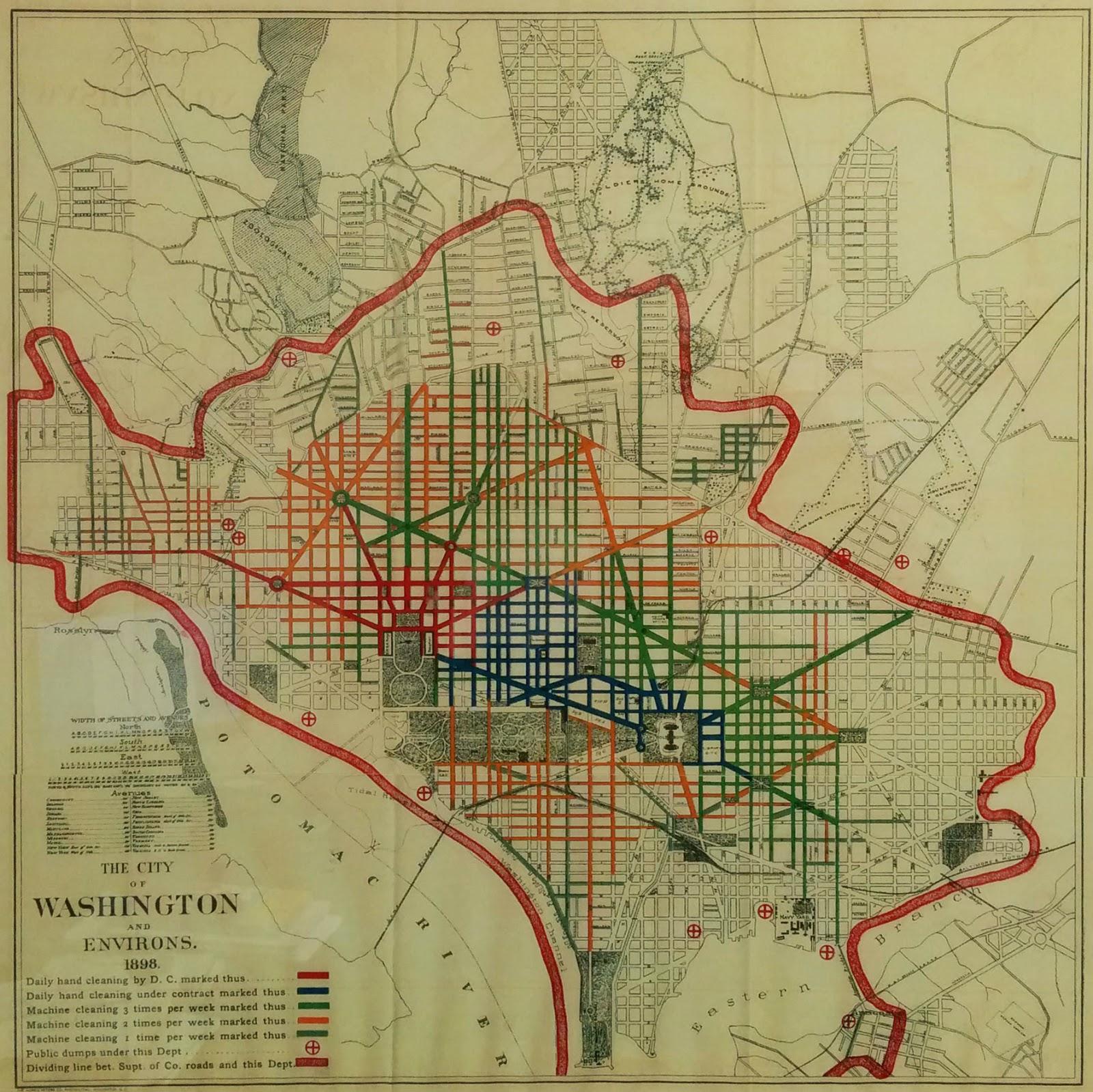 Dc Metro Map Overlay Street Map.Bloomingdale See A Street Map Of Bloomingdale And All Of Dc From 1898