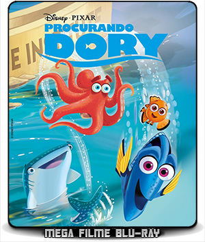 Procurando Dory (2016) – BluRay 720p e 1080p Dublado - Torrent
