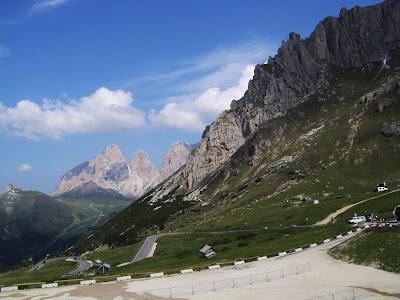 Passagem Pordoi – Itália