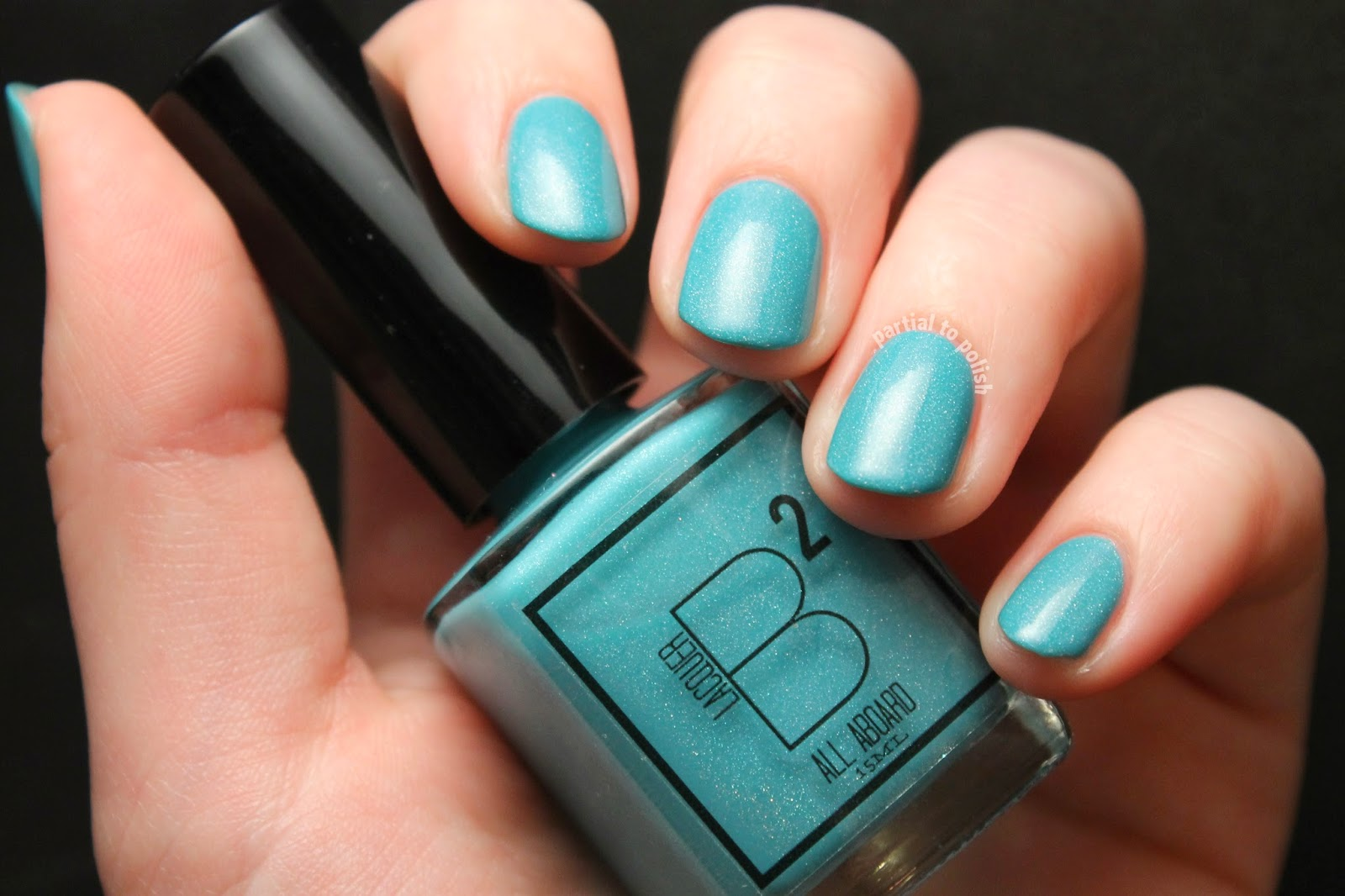 B Squared Lacquer All Aboard