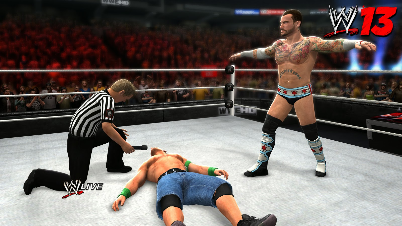 WWE 13 wrestling game