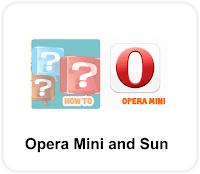 Opera Mini and Sun