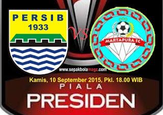 Preview Persib Bandung vs Martapura FC