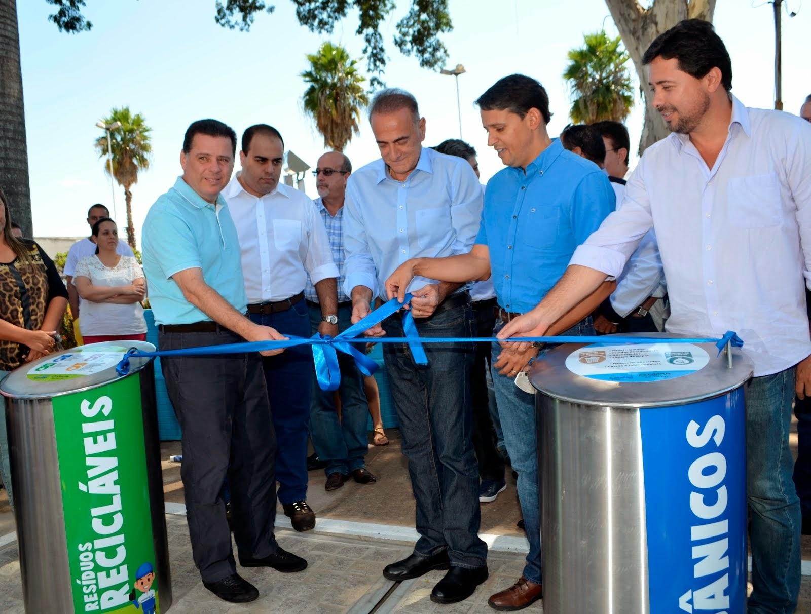 Catalão é primeira cidade do Centro-Oeste a instalar sistema de coleta seletiva de lixo MecLix