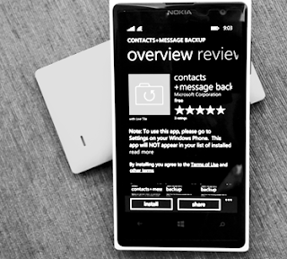 Backup Contact and Message to SD Card On Lumia WP 8.1