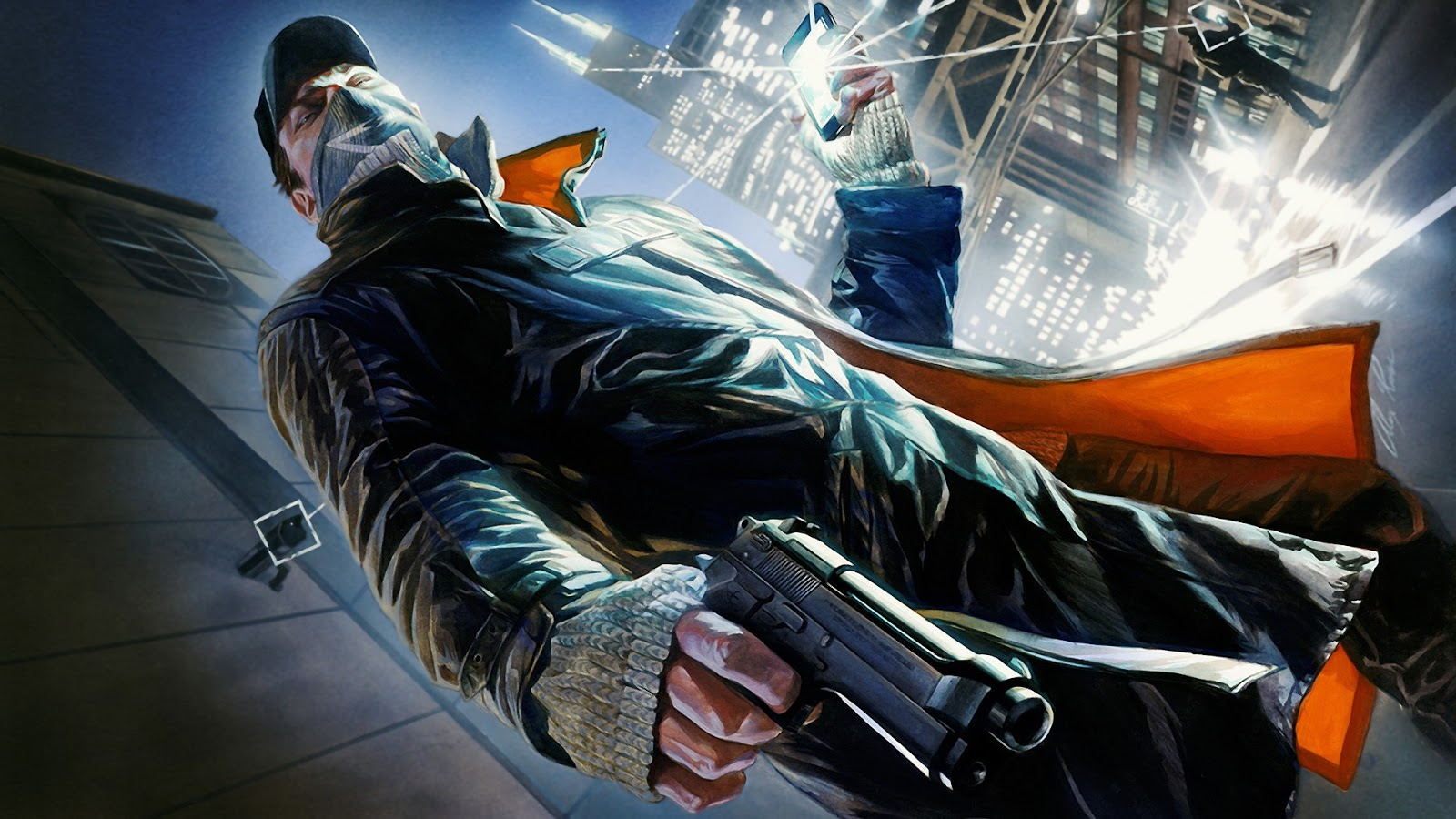 wallpapers of watch dogs