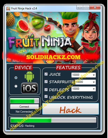 Fruit Ninja Hack Tool