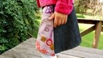 Whip up a wrap skirt from scraps.