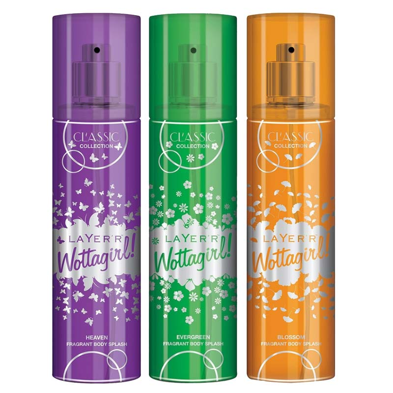 Layerr Wottagirl Body Sprays Lowest Online Price