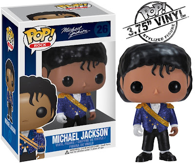 "Michael Jackson Pop! Rocks Vinyl Figures Wave 2 by Funko - ""1984 Grammys"" Michael"
