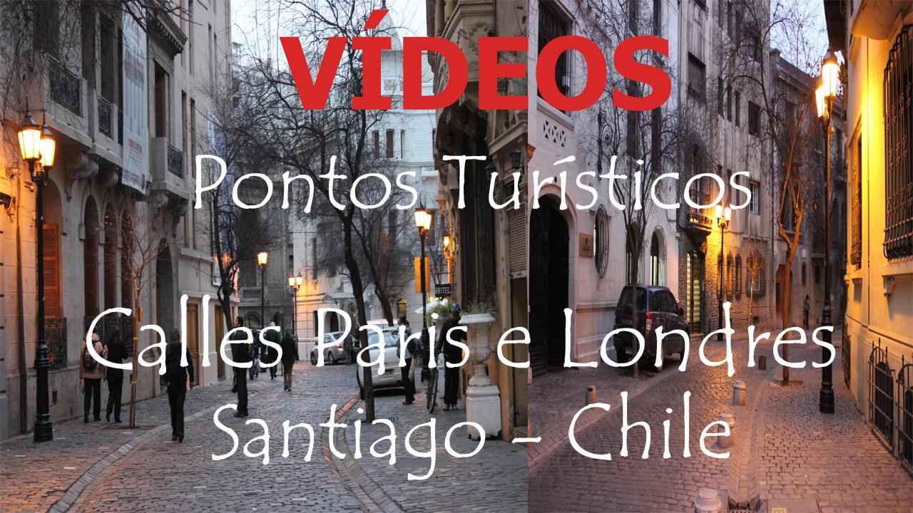 Direitos Reservados JPFotovideo/JPPhotovideo / Ciência de Arte - Calles Paris Londres Santiago Chile