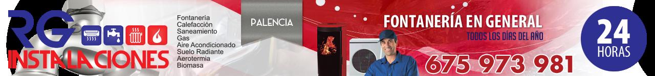 Fontanería y calefacción en Palencia - 675 973 981 - RG INSTALACIONES