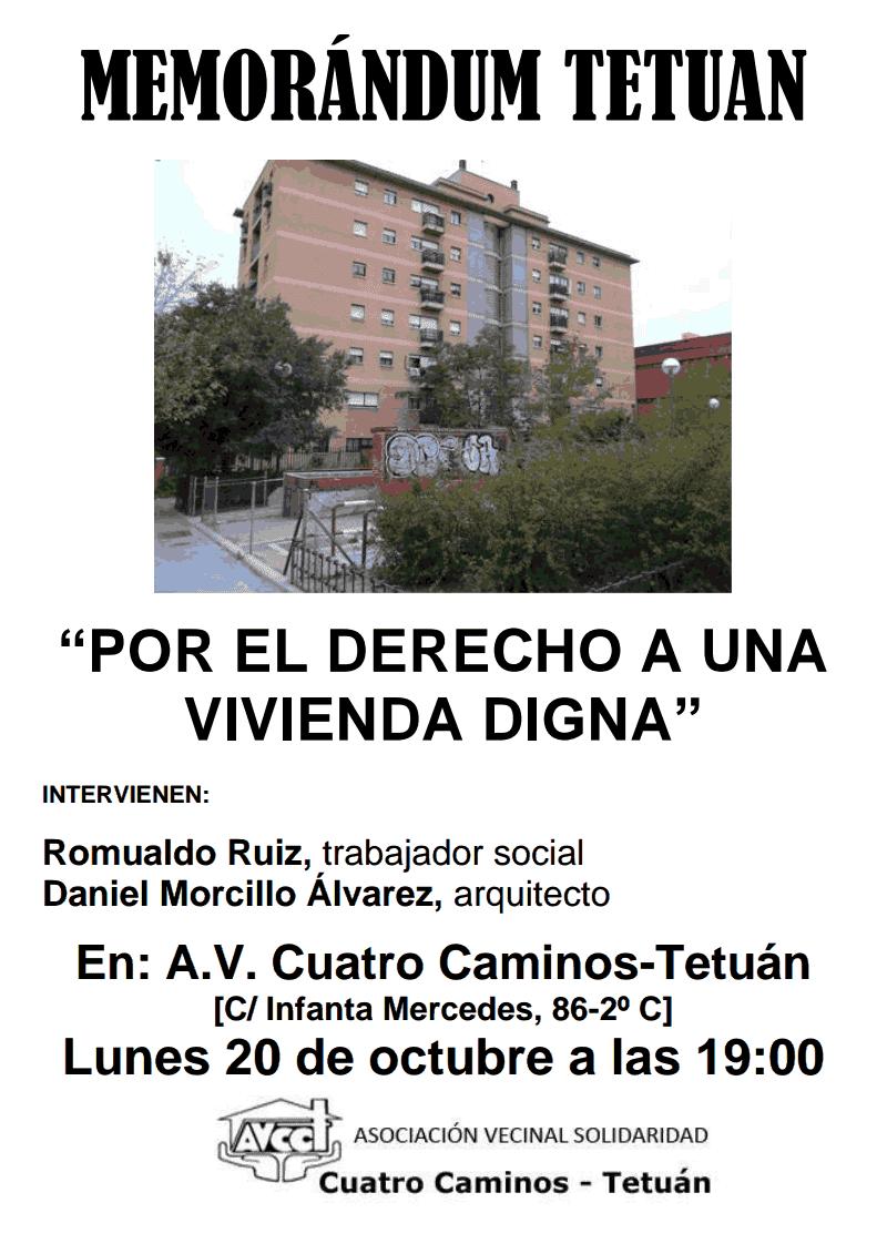 El Derecho a una vivienda digna